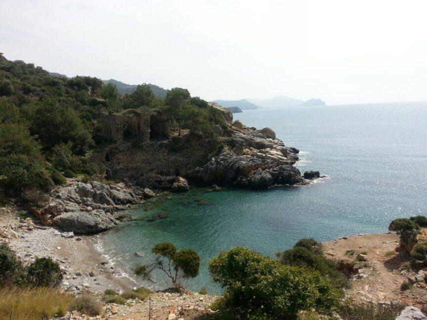 Порт античного города Иотатепе