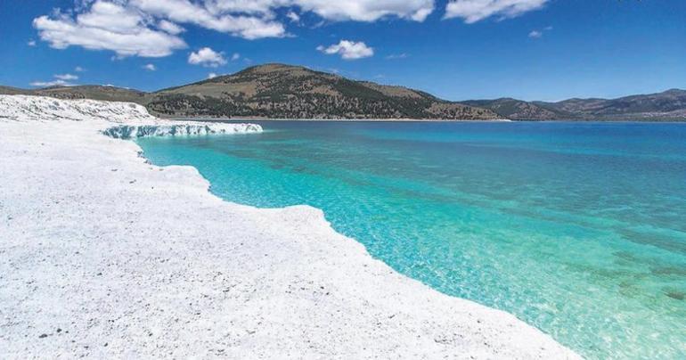 Озеро Салда. Турция