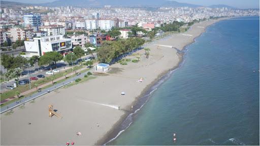 Самсун, пляж