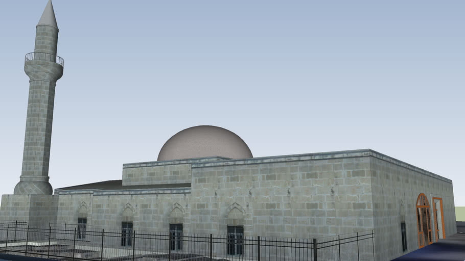 Мечеть Макам и гробница пророка Даниила в Тарсусе