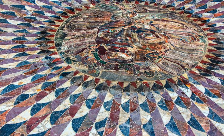 Мозаика с изображением Медузы Горгоны в Кибире