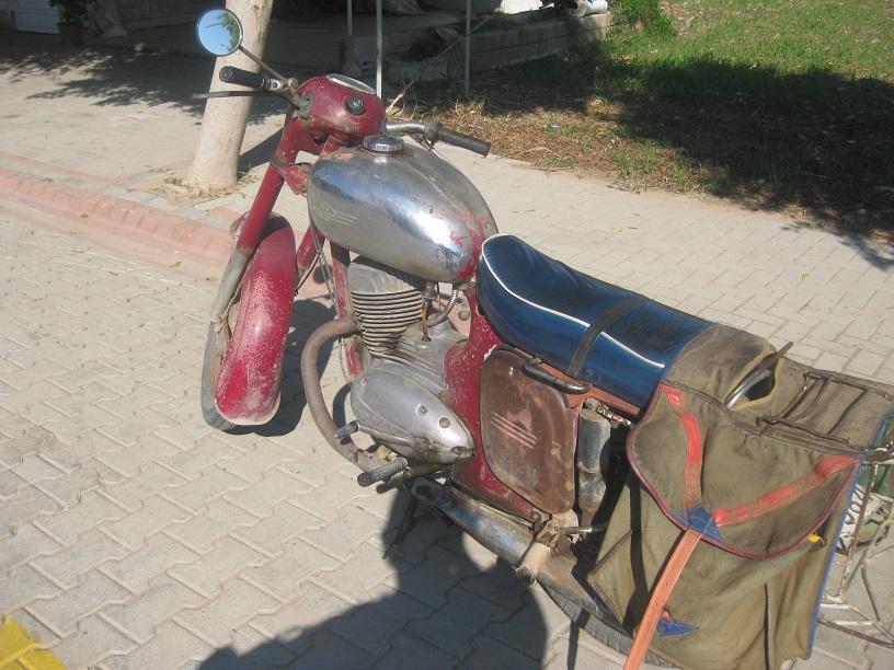 Jawa-250 в Турции