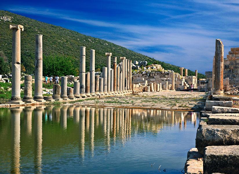 Античный город Патара
