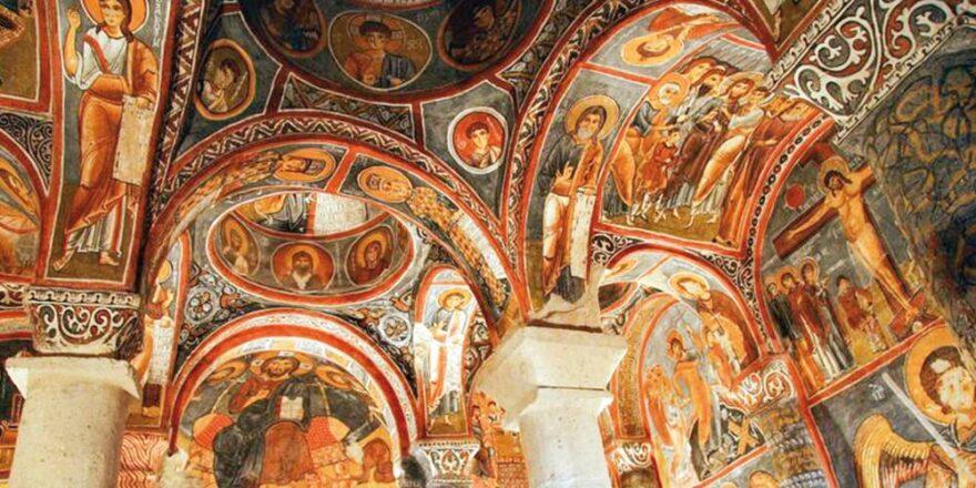 Церковь Каранлык в Каппадокии